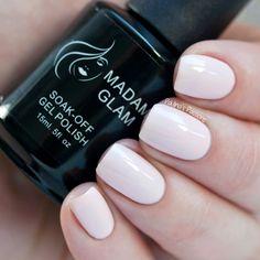 Madam Glam Gel Polish - All Natural