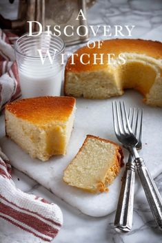 A Discovery of Witches: Hot Milk Cake recipe from by the story of Diana Bishop and Matthew Clairmont from, A Discovery of Witches, from the All SoulsTrilogy by Deborah Harkness. Waffle Recipes, Cake Recipes, Dessert Recipes, Brownie Recipes, Hot Milk Cake, Nos4a2, A Discovery Of Witches, Stick Of Butter, Melted Butter