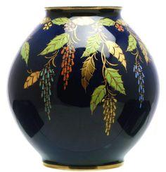 Antiques Atlas - Carlton Ware, Art Deco, Leaf Vase.