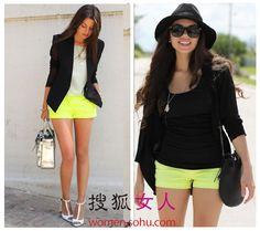 short, mini-skirt