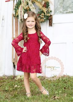 - Burgandy Dress – Boho style- Flower girl dress -Lace flower girl dresses- Long sleeve lace dress- lace dress,Toddler Dress- Christmas Dress Source by yvonne_haberlein - Flower Girl Dresses Country, Vintage Flower Girls, Boho Style Dresses, Lace Flower Girls, Little Girl Dresses, Girls Dresses, Dress Vintage, Lace Flowers, Trendy Dresses