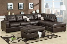 sectional sectional sofa bobkona furniture showroom categories poundex associated corporation idees pour