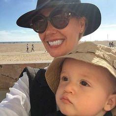 Heidi Balvanera y Jaime Camil III disfrutan de un soleado paseo por la playa de Santa Mónica