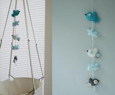 blue birds- bird theme