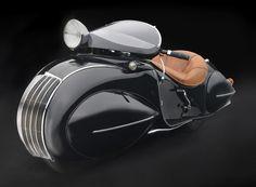 Design is fine. History is mine. — Henderson KJ Streamline, 1930. Collection of Frank...