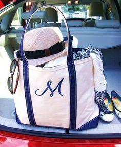 LLbean toto bag