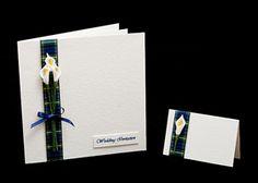 tartan wedding stationery Tartan Wedding ideas, Scottish Wedding, Tartan patterned Ideas and Inspirations. Wedding Directory-UK