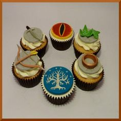 Lord of the Rings - Cup Cakes