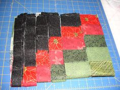 LAKESIDE QUILTING: BARGELLO CHRISTMAS RUNNER  First Part of Tutorial