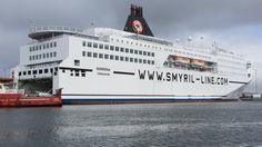 On the way to Iceland --- Norröna Ferry in the port of Tórshavn, Faroe Islands
