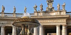 fontane di piazza san pietro roma