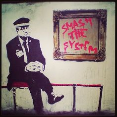 #banksy #art #streetart #graffiti