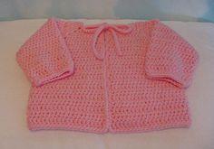 SLK Baby Sacque free crochet pattern