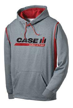 Case IH Logo Tech Fleece Hooded Sweatshirt