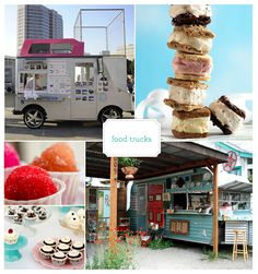 food trucks I want to own one! I could so do a funky truck!
