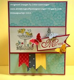 Stamping with Julie Gearinger: CST30
