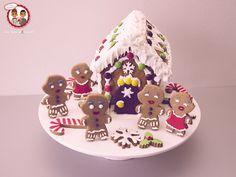 Biscuit Maison pain d'epices et ti'biscuits - Gingerbread house (silikomart) - Un Jeu d'Enfant Cake Design Nantes France