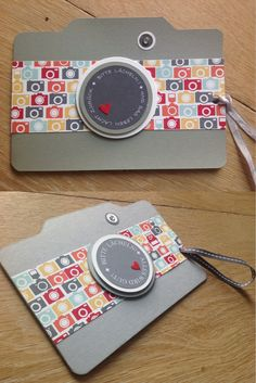Ronald MC Donald Häuser, Fotoapparat, Karte, Stampin'Up, Kamera, Camera,
