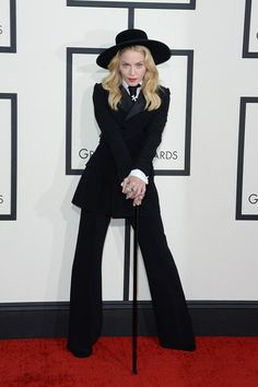 Madonna - Grammy Awards - Ralph Lauren suit