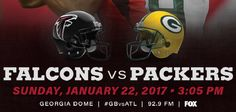 Packers vs Falcons Conference Championships live stream