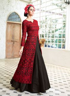 Design and style and trend will be at the peak of your attractiveness when you dresses this Black Net Unstitched Plazo Suit. The lovely Butta Work & Crystals Stones work a substantial attribute of this attire. Buy Online Exclusive Designer Plazo Suit, Party Wear, Plazosuit, dress material, Ceremonial Wear, Plazosuits, Indian Suit, Suits, Shuits For women. We have large range of Designer Plazo suit designs Online in our website with the best pricing and unique designs shipping to World Wide.