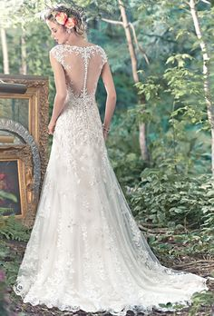 tami maggie sottero wedding dress