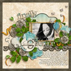 Fuss Free: Strong Foundation 5 by Fiddle-Dee-Dee Designs  On Cloud Nine [Mini Kit] by Captivated Visions