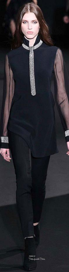#MFW Costume National Fall 2015 RTW Designer: John Galliano ♔THD♔