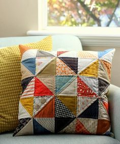 New throw-pillow for fall.
