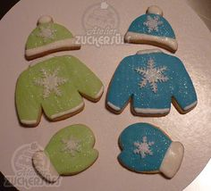 Winter time cookies