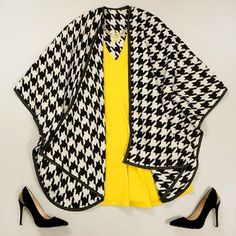 21 Ways to Wear Houndstooth This Fall