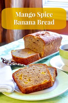 MANGO SPICE BANANA BREAD May 29, 2014 By Barry C. Parsons 2 Comments (Edit) Share the knowledge! 1.72k 39 Mango Spice Banana Bread – A different mango and spice twist on a traditional banana bread. A great addition to packed lunches or as an afternoon snack. Makes a terrific bake sale contribution too.