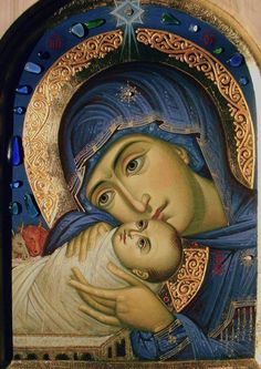 The Virgin Mary with Christ Byzantine Icons, Byzantine Art, Albrecht Durer, Religious Icons, Religious Art, Church Icon, Christian Artwork, Russian Icons, Religious Paintings