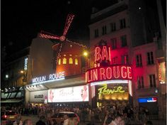 Paris Moulin Rouge and other Nightlife