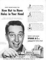 Ipana A/C Tooth Paste 1954 Ad Picture