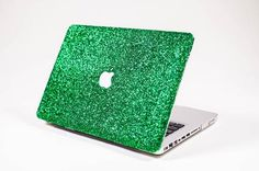 Glitter Macbook Case- Pink