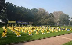 Sydney, Australia: Practitioners Celebrate the Upcoming World Falun Dafa Day