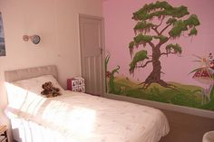 Painting Kids Wall Murals Bedroom Design Ideas