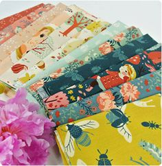 Modern Quilt Fabric, Japanese Import Fabric, Retro Fabric, Contemporary Cotton Designer Fabric