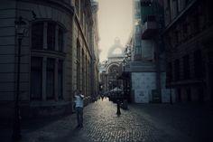 Bucharest - Stavropoleos Street