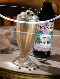 MONIN Espresso Syrup Label