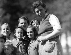 Bergen-Belsen, Germany, 1945, A woman and children after the liberation Heres an idea of what women looked liked in the holocaust- Anthony