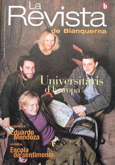 Coberta La revista de Blanquerna, 4, 2000 #design #university #Blanquerna