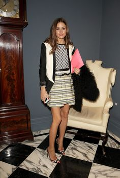 Olivia Palermo - Temperley London - Front Row - LFW F/W 2013