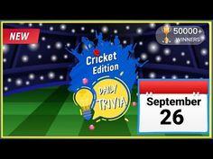 Flipkart Daily Trivia Quiz | Today Flipkart Trivia Answers | 26 September 2020 | Flipkart Daily Quiz - YouTube