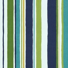 STRIPESCAPE ISLAND SEA- Curtain fabric? $11.99 per yard