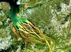 Landsat image of the Betsiboka River, Madagascar GEO ExPro - Remote Sensing Underground