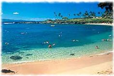 Kapalua Beach, Maui - the best beach on the island in my opinion!  Amazing snorkelling