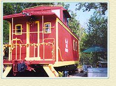 Livingston Junction Cabooses Unique Eureka Springs, Arkansas - Railroad Depot Lodging