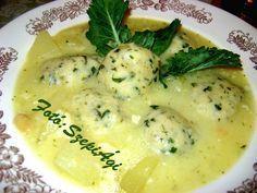 Soup Recipes, Vegetarian Recipes, Cooking Recipes, Healthy Recipes, My Favorite Food, Favorite Recipes, Hungarian Recipes, No Cook Meals, Soups And Stews